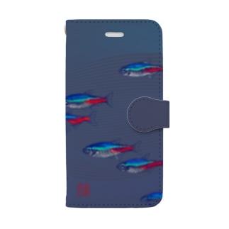 ネオンテトラ Book-Style Smartphone Case