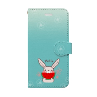 SOLD OUT🎀Suikachan 青空グラデーションケース Book-style smartphone case