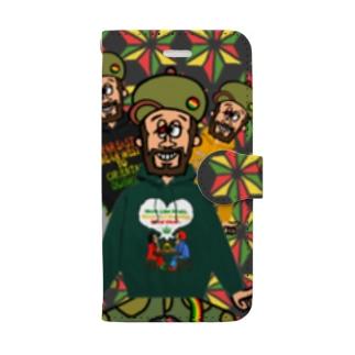 アイリーマン7 Book-style smartphone case