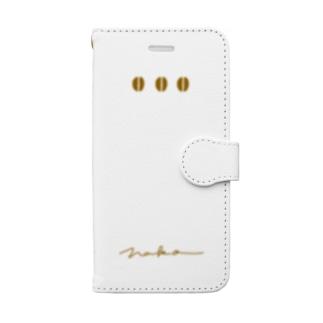 【リクエスト】さかさCOFFEE Book-style smartphone case