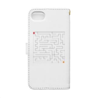迷路 Book-style smartphone case