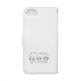 在処のお絵かき Book-style smartphone case