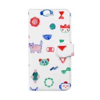 かたちたち Book style smartphone case