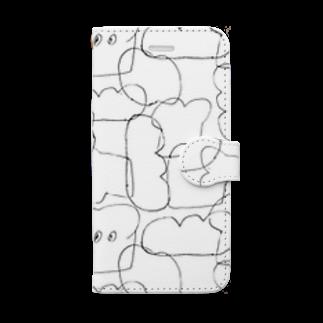 killdiscoのパン Book-style smartphone case