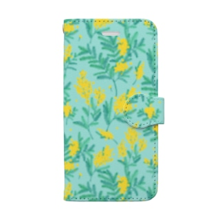 mimosa blue Book-style smartphone case