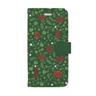 ミソサザイ Book-style smartphone case