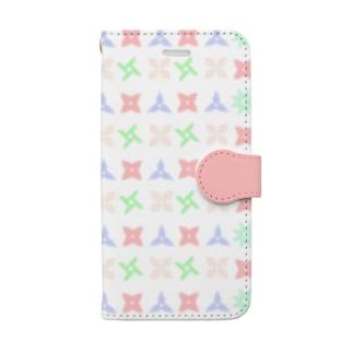 Pop  Shuriken (iPhone8/7用) Book-style smartphone case