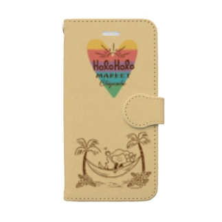 rainbow♡KAPUA Book-style smartphone case