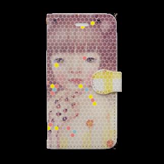 cocoartの雑貨屋さんのゆめのなかのやくそく iPhone 6,6s/7,8用 Book-style smartphone case
