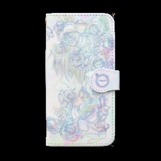 晴のji Book-style smartphone case