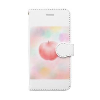 ほわほわリンゴさんグッズ🍎 Book-style smartphone case
