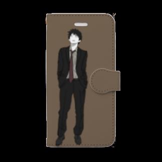 踊るこどもたちの楽先生 Book-style smartphone case