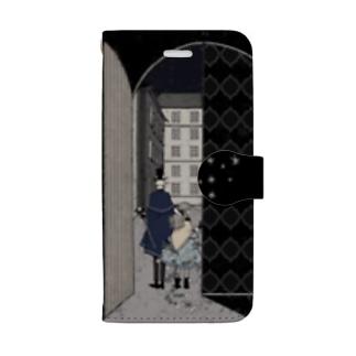 星月夜 Book-style smartphone case