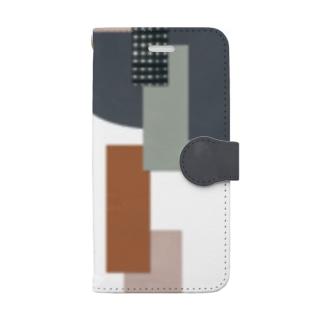 星に願いを Book-style smartphone case