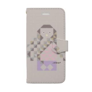 アマビエさん iPhone8/7/SE Book-style smartphone case