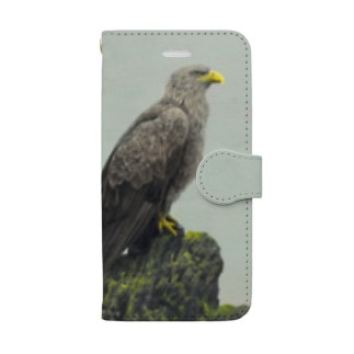 手帳型オジロワシ(★寄付) Book-style smartphone case