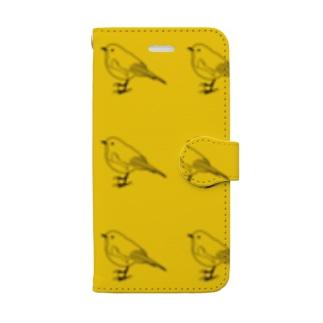 野鳥 Book-Style Smartphone Case