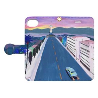 kyoto keyvisual Book style smartphone case