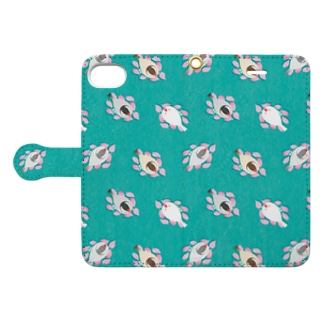 SAKURA BED 空色 Book-style smartphone case