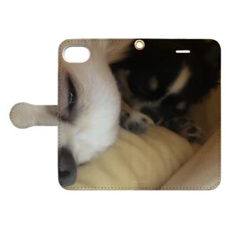 チワワ Book-style smartphone case