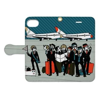 飛行場 Book style smartphone case