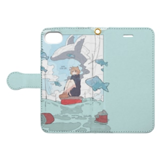 UoUo FISH LIFE🐟 Book-style smartphone case