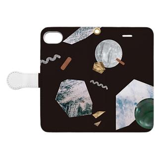 cosmic box Book style smartphone case