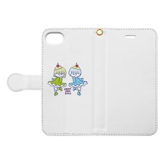 creamsodagirls Book-style smartphone case