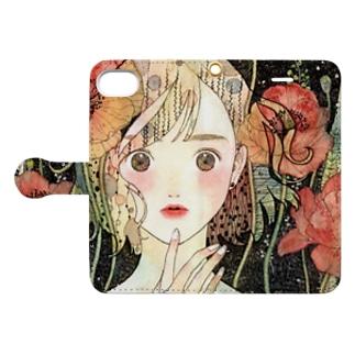 poppy make Book-style smartphone case