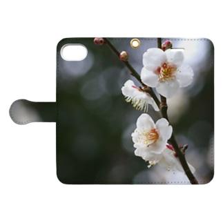 桜 Book-style smartphone case