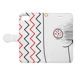 睡眠不足 Book-style smartphone case