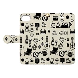 hibik_camp Book-style smartphone case