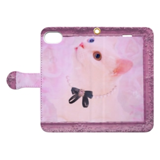 Actress Cat Book-style smartphone case