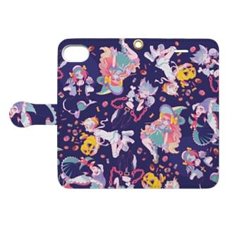 ハロウィンガールズ Book-style smartphone case