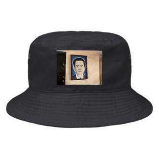 キューバの田舎町にあった日本人かと思ったら中国人の肖像画だった Bucket Hat