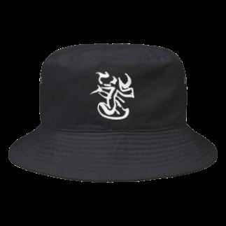 龍Tのロングッズ20180606(白文字) Bucket Hat