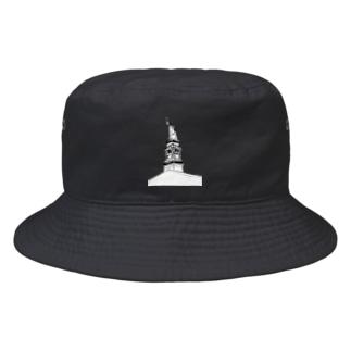 "Travel series ""ニューヨーク"" Bucket Hat"