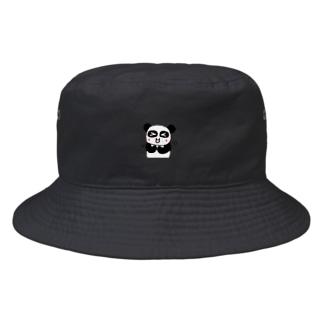 ぱんだかわいい Bucket Hat