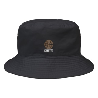 CRAFTED 白2 Bucket Hat