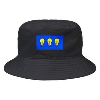 三連電球 Bucket Hat