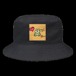 Ozziのカエルのオッズィ Bucket Hat