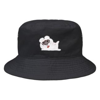 セクシー・ホワイト・テディ轟 Bucket Hat