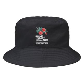 ローズガーデンクラブ濃色BODY Bucket Hat