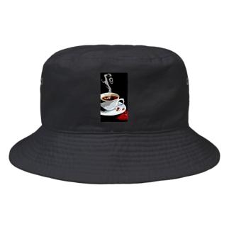 コーヒー Bucket Hat