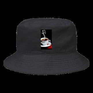 猫神楽セバルshop のコーヒー Bucket Hat