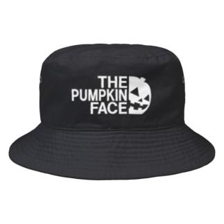 THE PUMPKIN FACE ザ・パンプキン・フェイス 2020年ハロウィン向け Bucket Hat