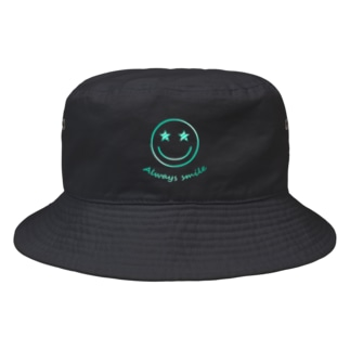 Always smile!!! Bucket Hat