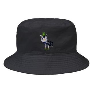 クロヒョウさん Bucket Hat