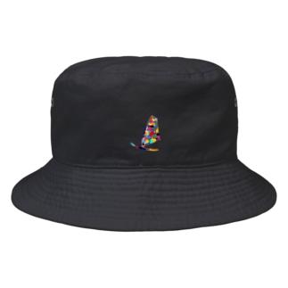ウィンドサーフィン Bucket Hat