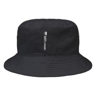 MFS room trim1(白) Bucket Hat